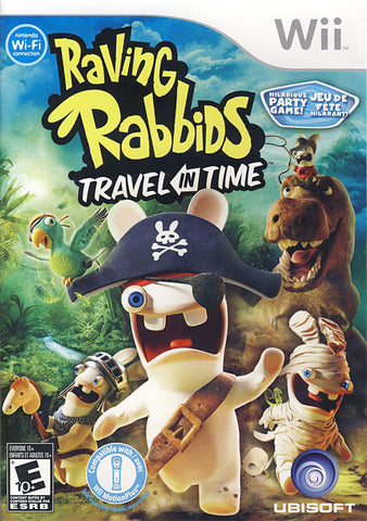 Raving Rabbids - Travel in Time (Bilingual Cover) (NINTENDO WII) NINTENDO WII Game