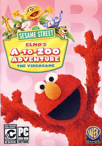 Sesame Street - Elmo s A-to-Zoo Adventure (Bilingual Cover) (PC) PC Game