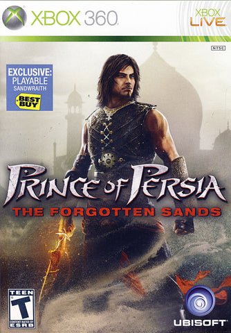 Prince of Persia - The Forgotten Sands (Sandwraith DLC) (XBOX360) XBOX360 Game