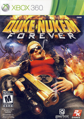 Duke Nukem Forever (Bilingual Cover) (XBOX360) XBOX360 Game