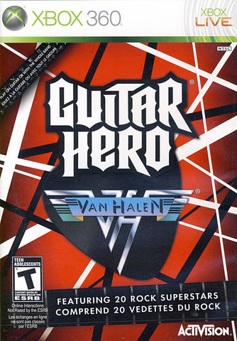 Guitar Hero - Van Halen (Bilingual Cover) (XBOX360) XBOX360 Game