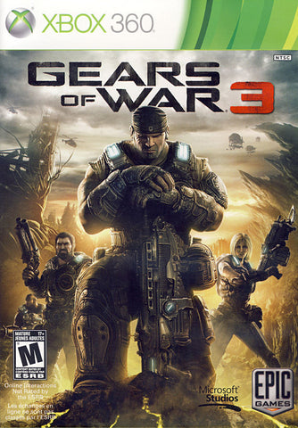 Gears Of War 3 (Bilingual Cover) (XBOX360) XBOX360 Game