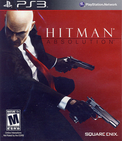 Hitman - Absolution (PLAYSTATION3) PLAYSTATION3 Game