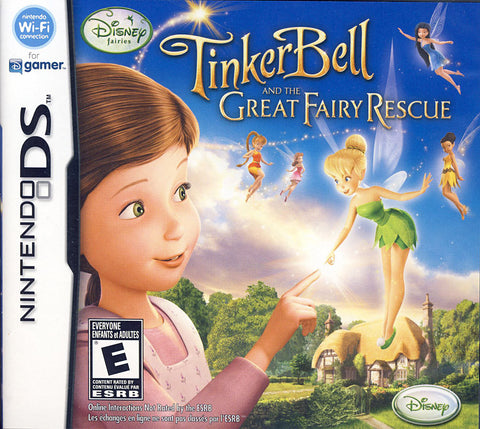 Tinkerbell and the Great Fairy Rescue (Bilingual Cover) (DS) DS Game