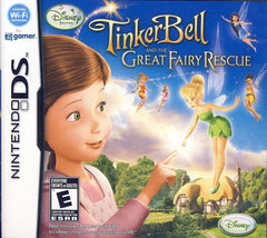 Tinkerbell and the Great Fairy Rescue (Bilingual Cover) (DS)