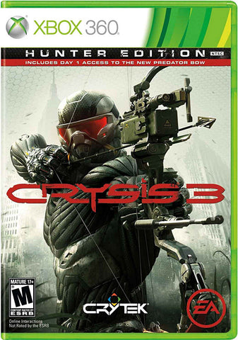 Crysis 3 (Hunter Edition) (Bilingual Cover) (XBOX360) XBOX360 Game