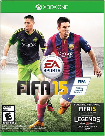 FIFA 15 (Bilingual Cover) (XBOX ONE) XBOX ONE Game