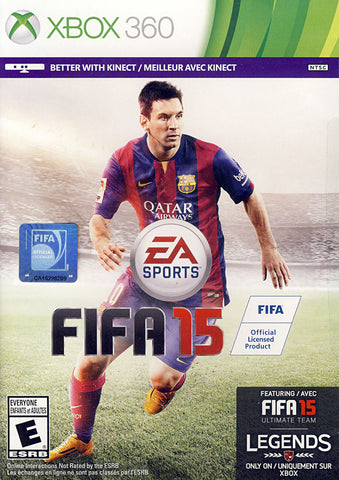 FIFA 15 (Bilingual Cover) (XBOX360) XBOX360 Game