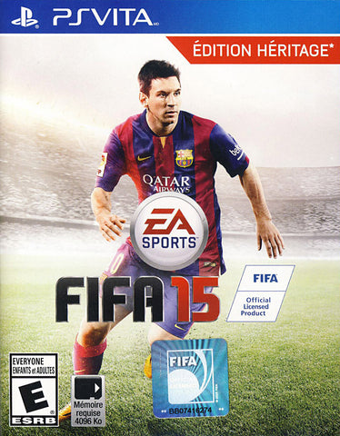 Fifa 15 - Legacy Edition (French Version Only) (PS VITA) PS VITA Game