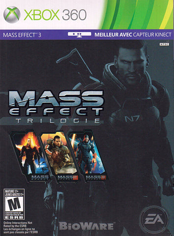 Mass Effect Trilogy (French Version Only) (XBOX360) XBOX360 Game