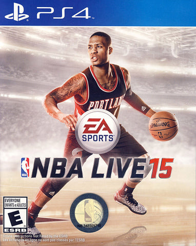 NBA Live 15 (Bilingual Cover) (PLAYSTATION4) PLAYSTATION4 Game