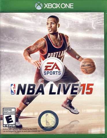 NBA Live 15 (Bilingual Cover) (XBOX ONE) XBOX ONE Game