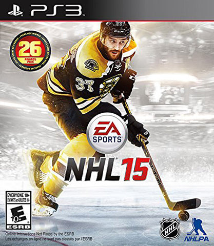 NHL 15 (Bilingual Cover) (PLAYSTATION3) PLAYSTATION3 Game
