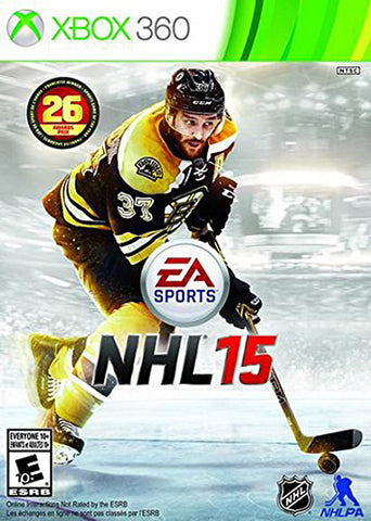 NHL 15 (Bilingual Cover) (XBOX360) XBOX360 Game