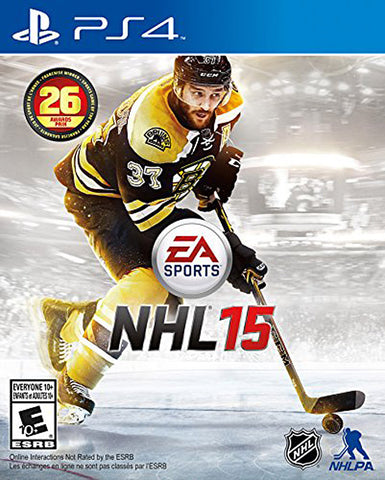 NHL 15 (Bilingual Cover) (PLAYSTATION4) PLAYSTATION4 Game