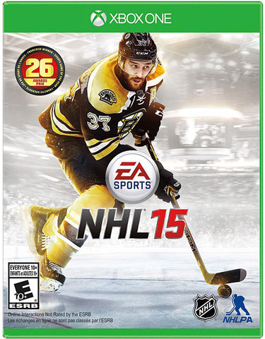 NHL 15 (Bilingual Cover) (XBOX ONE) XBOX ONE Game
