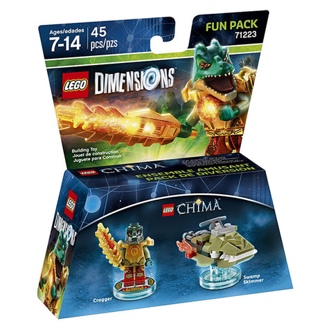 LEGO Dimensions - Chima Cragger Fun Pack (Toy) (TOYS) TOYS Game