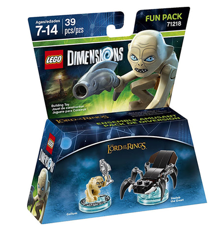 LEGO Dimensions - Lord Of The Rings Gollum Fun Pack(Toy) (TOYS) TOYS Game