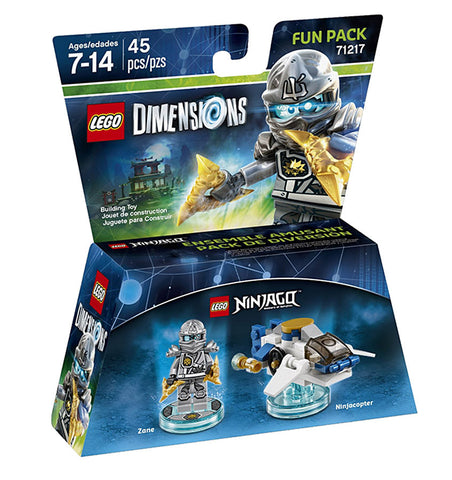LEGO Dimensions - Ninjago Zane Fun Pack (Toy) (TOYS) TOYS Game