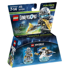 LEGO Dimensions - Ninjago Zane Fun Pack (Toy) (TOYS)