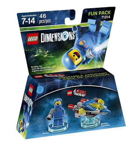 LEGO Dimensions - Lego Movie Benny Fun Pack (Toy) (TOYS) TOYS Game