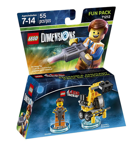 LEGO Dimensions - Lego Movie Emmet Fun Pack(Toy) (TOYS) TOYS Game