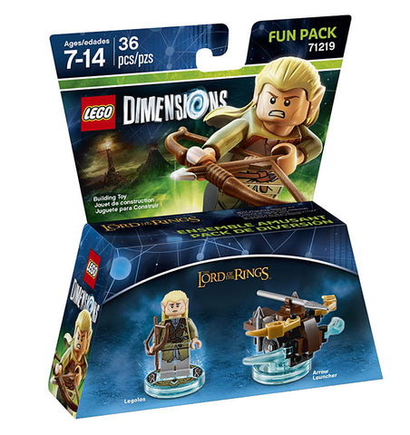 LEGO Dimensions - Lord Of The Rings Legolas Fun Pack (Toy) (TOYS) TOYS Game