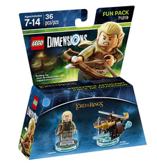 LEGO Dimensions - Lord Of The Rings Legolas Fun Pack (Toy) (TOYS)