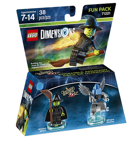 LEGO Dimensions - Wizard of Oz Wicked Witch Fun Pack (Toy) (TOYS) TOYS Game