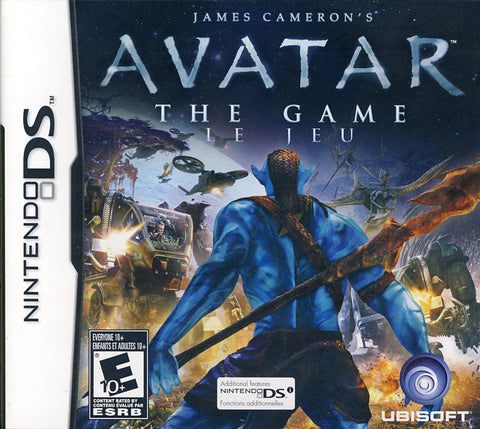 Avatar - James Cameron's (Bilingual Cover) (DS) DS Game
