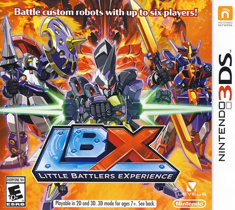 LBX - Little Battlers eXperience (3DS) 3DS Game