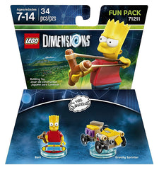 LEGO Dimensions - The Simpsons Bart Fun Pack (Toy) (TOYS)
