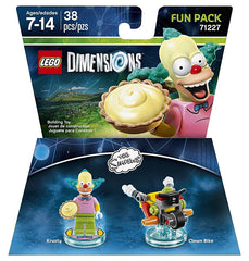 LEGO Dimensions - The Simpsons Krusty Fun Pack (Toy) (TOYS)