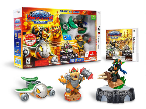 Skylanders Superchargers Racing Starter Pack (3DS) 3DS Game