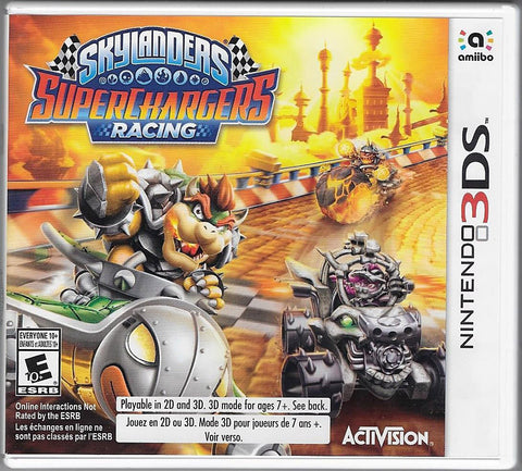 Skylanders Superchargers Racing (Game Only) (3DS) 3DS Game