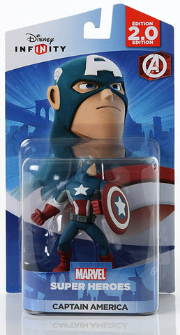 Disney Infinity 2.0 - Marvel Super Heroes - Captain America (Toy) (TOYS) TOYS Game