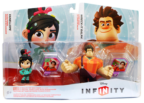 Disney Infinity Wreck-It-Ralph / Vanellope Toy Box Pack (Toy) (TOYS) TOYS Game