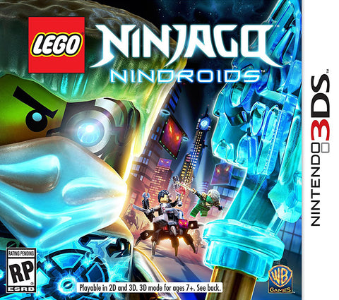 LEGO Ninjago Nindroids (Bilingual Cover) (3DS) 3DS Game