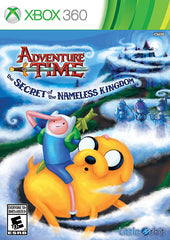 Adventure Time - The Secret of the Nameless Kingdom (Trilingual Cover) (XBOX360)