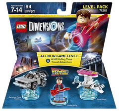 LEGO Dimensions - Back to the Future Level Pack (Toy) (TOYS)