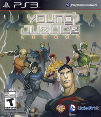 Young Justice - Legacy (Trilingual Cover) (PLAYSTATION3)