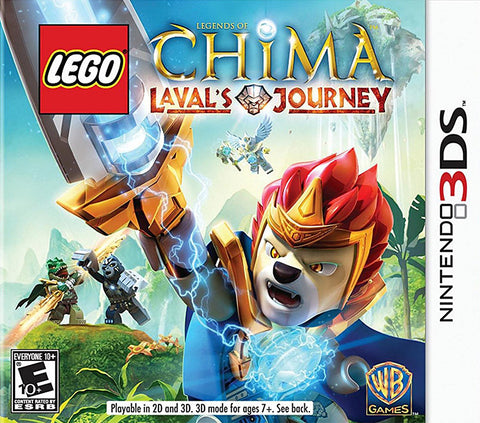 LEGO Legends of Chima - Laval s Journey (3DS) 3DS Game