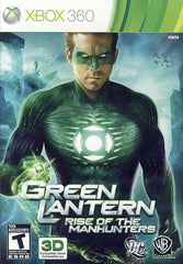 Green Lantern - Rise of the Manhunters (Bilingual Cover) (XBOX360)