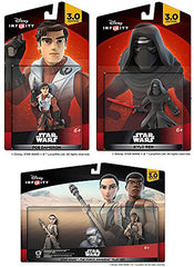 Disney Infinity 3.0 - The Force Awakens Bundle (3-Pack) (Toy) (TOYS)