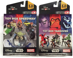 Disney Infinity 3.0 - Toy Box Takeover and Speedway Expansion Bundle (2-Pack) (Toy) (TOYS)