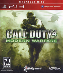 Call of Duty 4: Modern Warfare (Game of the Year Edition) (PLAYSTATION3)