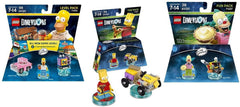 LEGO Dimensions - Simpsons Simpsons Level Pack / Bart Simpson / Krusty Bundle (3-Pack) (Toy) (TOYS)