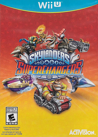 Skylanders Superchargers (Game Only ) (Bilingual Cover) (NINTENDO WII U) NINTENDO WII U Game