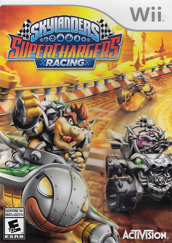 Skylanders Superchargers Racing (Game Only) (Bilingual Cover) (NINTENDO WII) NINTENDO WII Game