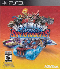 Skylanders Superchargers (Game Only) (Bilingual Cover) (PLAYSTATION3)